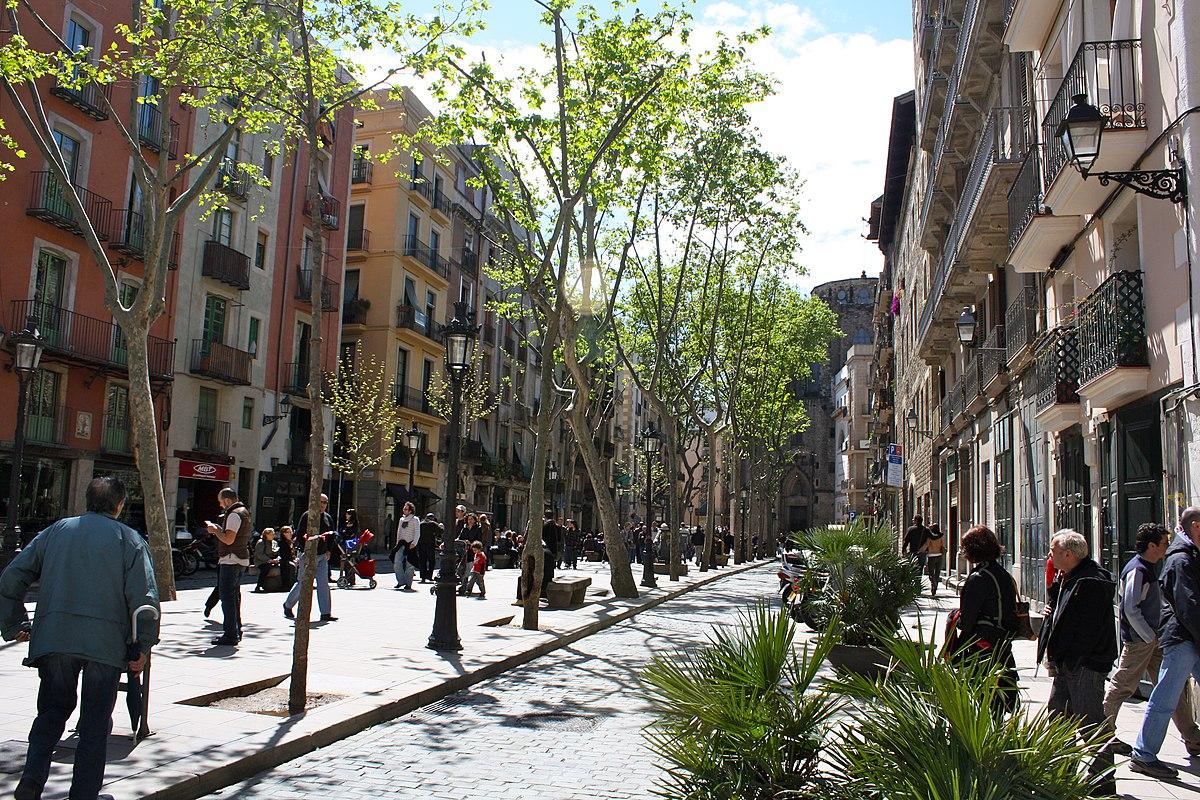 Paseo del borne barcelona wikipedia la enciclopedia libre for Hoteles en el born de barcelona