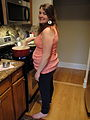 Barefoot and pregnant in the kitchen.jpg