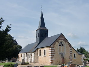 Barneville-sur-Seine - Image: Barneville Sur Seine église 2