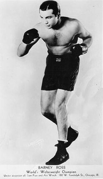 The Ring magazine Fighter of the Year - Barney Ross