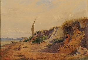 Giuseppe Agujari - Barrancas del Paraná, Museo Nacional de Bellas Artes, Buenos Aires.