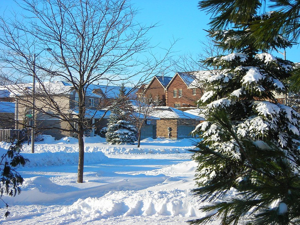 Barrie Condos and Houses in Winter