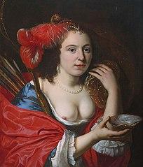 Portrait of Anna du Pire as Granida