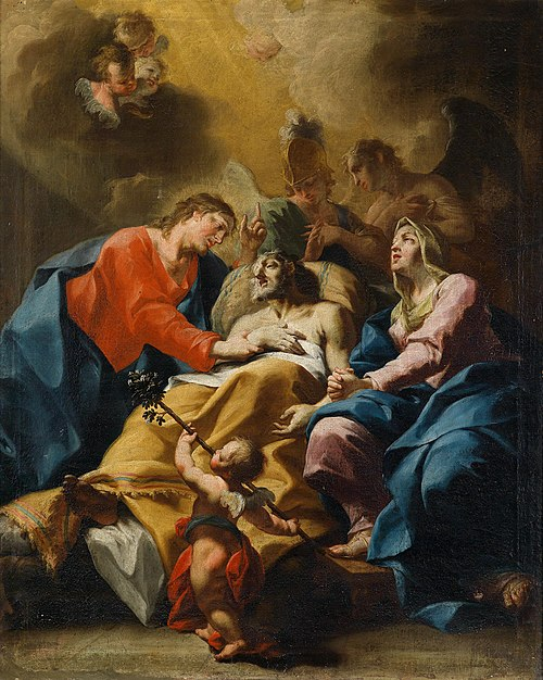 Bartolomeo Altomonte - Der Tod des heiligen Joseph.jpg