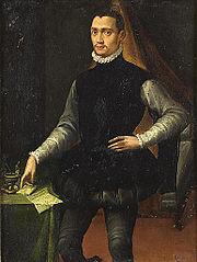 Portrait d'un jeune gentilhomme de la cour de Medicis
