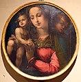Bartolomeo di david, testate di bara dalla compagnia di s. onofrio, 1532 (siena, museo civico), madonna col bambino.jpg