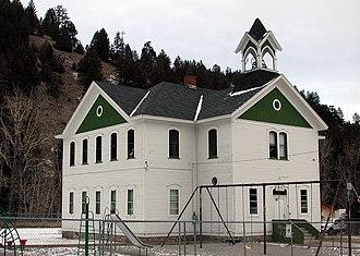 Basin, Montana - Image: Basinschool