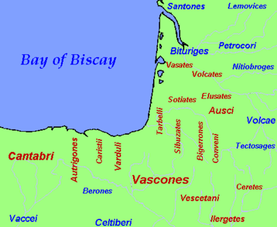 Basque tribes