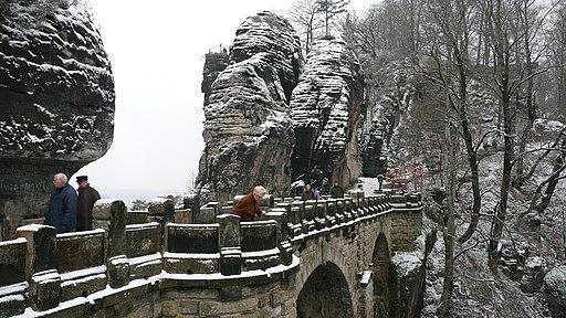 Bastei im Winter 10