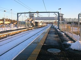 Bathgate railway station looking east.JPG