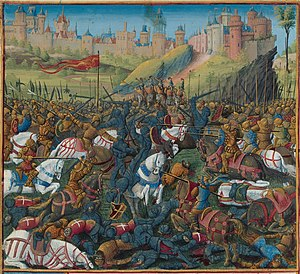 Constance of Antioch - Death of Constance's first husband, Raymond of Poitiers, in the Battle of Inab.