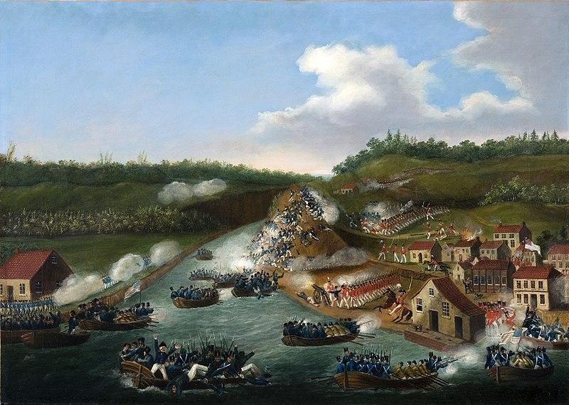 Battle of Queenston Heights, Artist Unknown.jpg