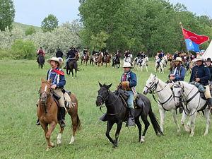 Battle of the Little Bighorn reenactment - Battle of the Little Bighorn Reenactment 2013