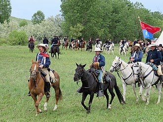 Battle of the Little Bighorn reenactment - Battle of the Little Bighorn Reenactment 2013