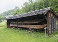 Bauernmuseum Mondsee Einbäume.JPG