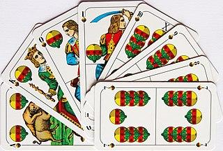Bolachen card game