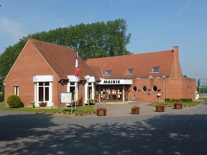 Bavinchove (Nord, Fr) mairie (het wethuis)