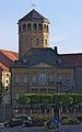 Bayreuth - Maximilianstrasse 10 and Schlosskirche.jpg