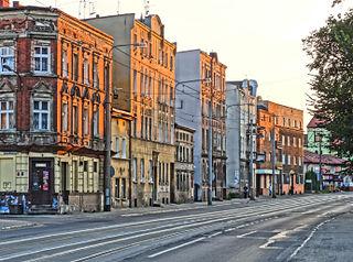 Nakielska street in Bydgoszcz street in Bydgoszcz