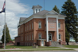 Bear Lake County, Idaho - Image: Bear Lake County Courthouse Paris Idaho