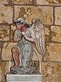 Beaupouyet église statue ange.JPG