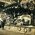 Bed linen and quilt booth at the Mississippi Valley Sanitary Fair.jpg