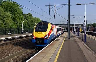 Bedford railway station - Image: Bedford railway station MMB 06 222022
