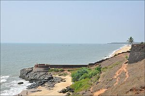 Bekal Fort - West view