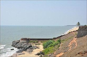 Bekal Fort - West view