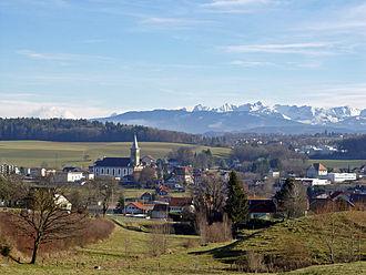 Belfaux - Belfaux village