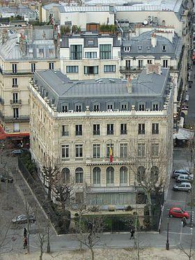 ambassade de belgique en france wikip dia. Black Bedroom Furniture Sets. Home Design Ideas