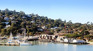 Belvedere, California - Belvedere around San Francisco Yacht Club
