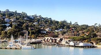 Belvedere around San Francisco Yacht Club