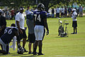 Ben Grubbs and Michael Oher - August 5, 2009 (3793942748).jpg