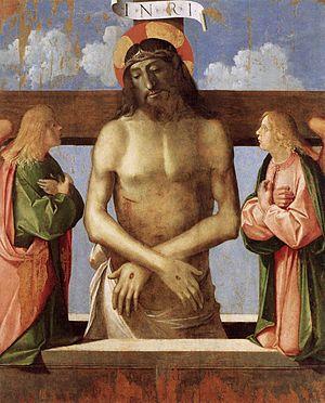 Benedetto Rusconi - Pietà, now at the Museo Correr in Venice