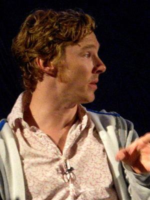 Benedict Cumberbatch at Frankenstein Q&A at th...