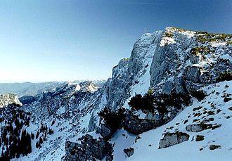 Benediktenwand - North face of the Benediktenwand