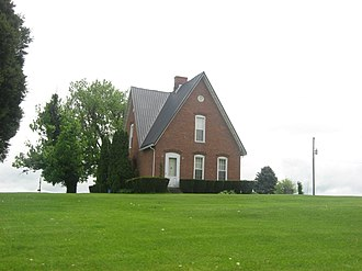 National Register of Historic Places listings in Gallatin County, Kentucky - Image: Benjamin F. Turley House