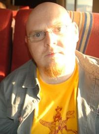 Ben Peek at the 2007 World Fantasy Convention
