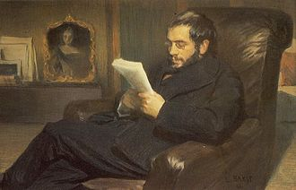 Alexandre Benois - Portrait of Alexandre Benois by Léon Bakst, 1898
