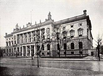 Prussian House of Representatives - Image: Berlin Abgeordnetenhaus 1900
