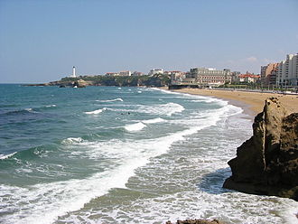 Bay of Biscay - Biarritz Beach (French Basque Country)