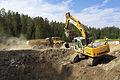 Biathlon Arena Lenzerheide, Bauarbeiten des Stadionareals 02.jpg