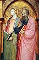 Bicci di lorenzo, annunciazione tra i ss. michele, giacomo minore, margherita e giovanni e., 1414 (stia, s.m. assunta) 03.JPG