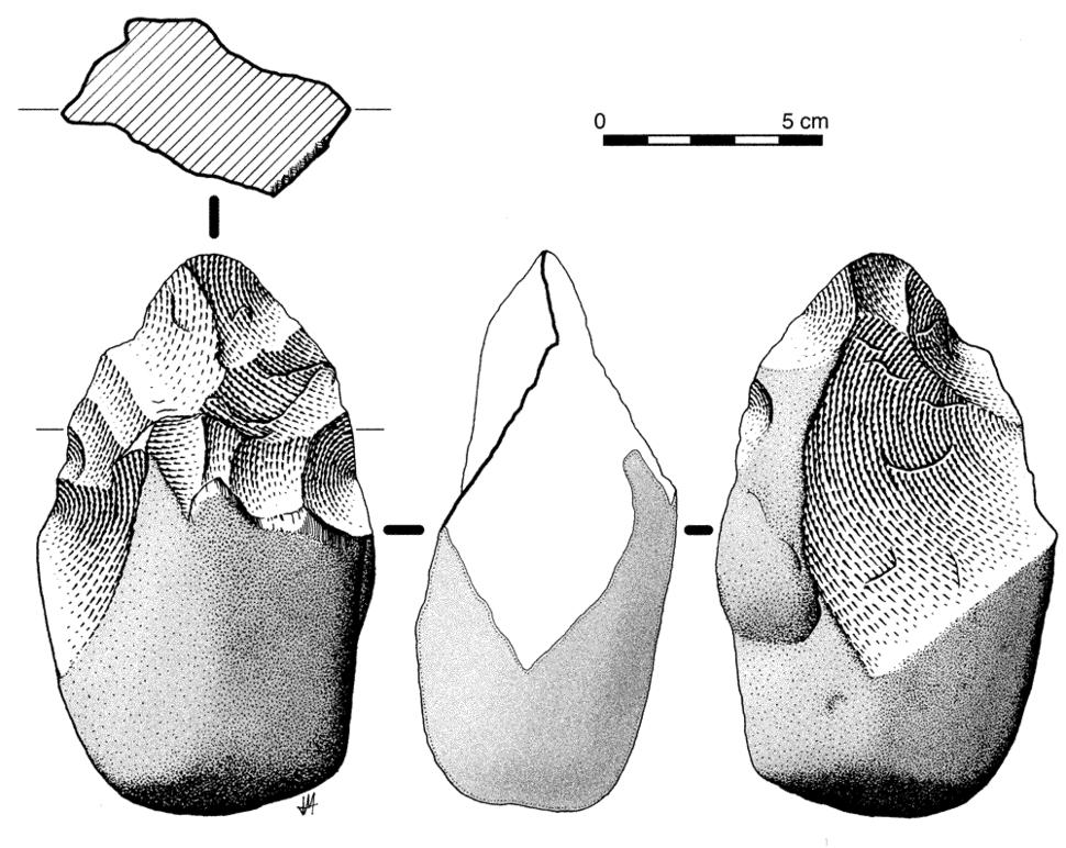 Bifaz parcial-El-Lombo