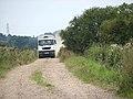 Big truck on narrow road - geograph.org.uk - 1442685.jpg