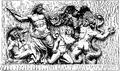 Bildhuggarkonst, Zeus och giganterna, från Pergamon, Nordisk familjebok.png