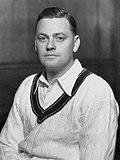 Bill Woodfull em 1934