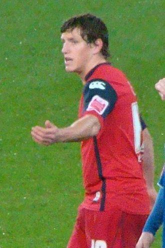 Billy Jones (footballer, born 1987) - Jones playing for Preston North End in 2009