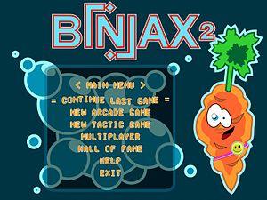 Biniax - Image: Biniax 2 titlescreen